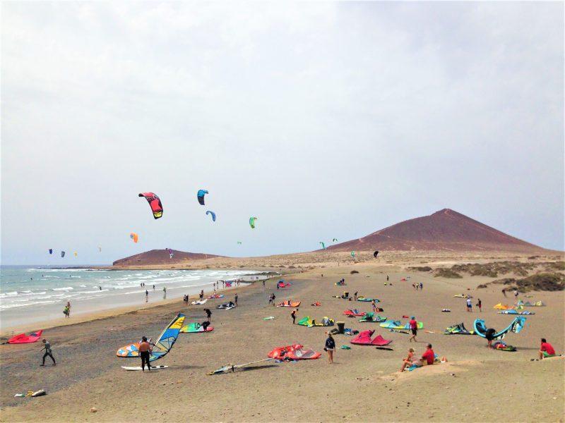 kitesurf playa el medano