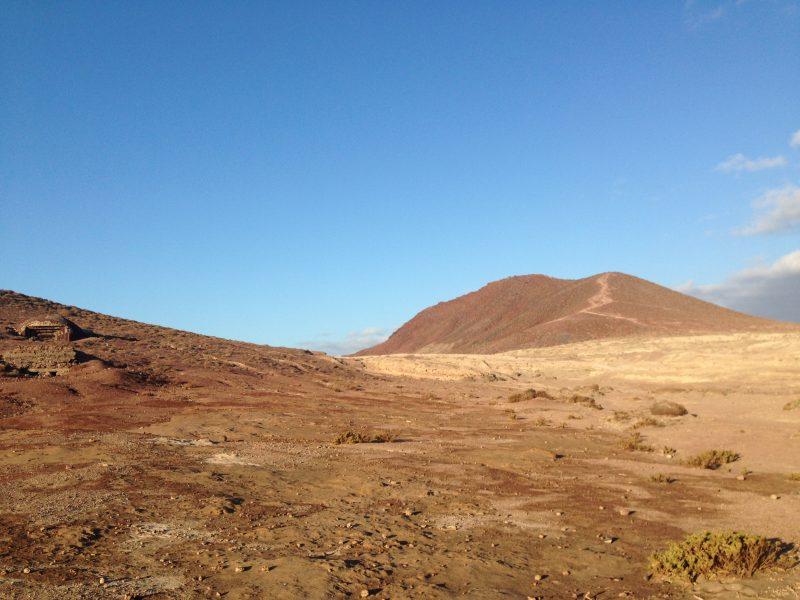 montaña roja reserva natural