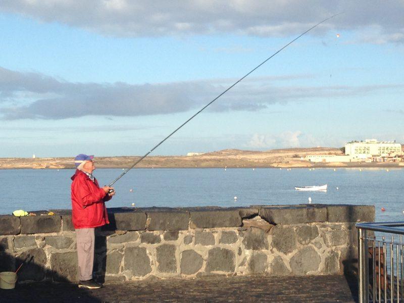 puerto pesquero medano